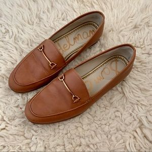 Sam Edelman Loafers in Tan Leather